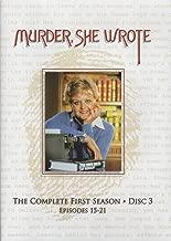 Murder, She Wrote - Season 1 Disc 3 (Episodes 15-21)