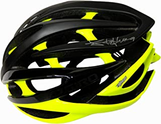 2d46b585590c Lance Armstrong Signed Giro Black Full Size Cycling Bike Helmet