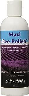 Maxi Health Bee Pollen - Cleanser - Hair Conditioning Shampoo & Body Wash - 8 Fluid Ounce Bottle