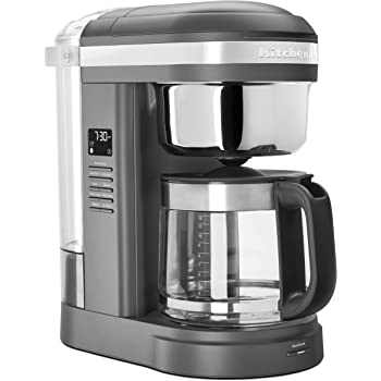 KitchenAid KCM1209DG Drip Coffee Maker, 12 Cup, Matte Grey