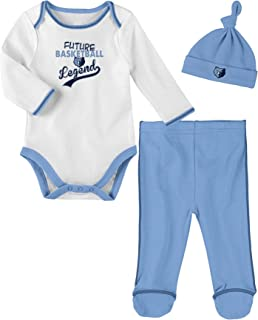 Outerstuff NBA Newborn NBA Newborn Future Legend Onesie, Pant and Hat Set