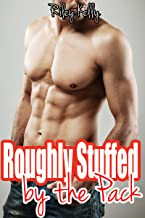Roughly Stuffed by the Pack (BBW Shifter Menage Erotic Romance) (English Edition)