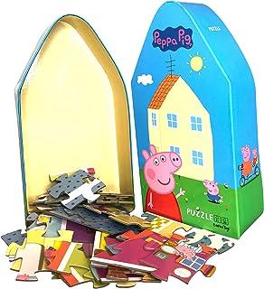 Barbo Toys Peppa Pig Puzzle Juguetes para Niños a Partir de 3 Años   Apto como Primer Rompecabezas   Contiene 39 Piezas de...