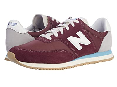 New Balance Classics COMP 100 (NB Burgundy/Wax Blue) Men