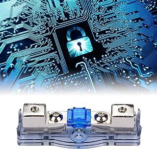Porta-fusível de áudio, porta-fusível do disjuntor do carro com amplificador de potência compacto, circuito do carro de re...