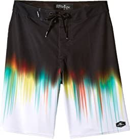 O'Neill Kids - Hyperfreak Drippin' Superfreak Boardshorts (Big Kids)