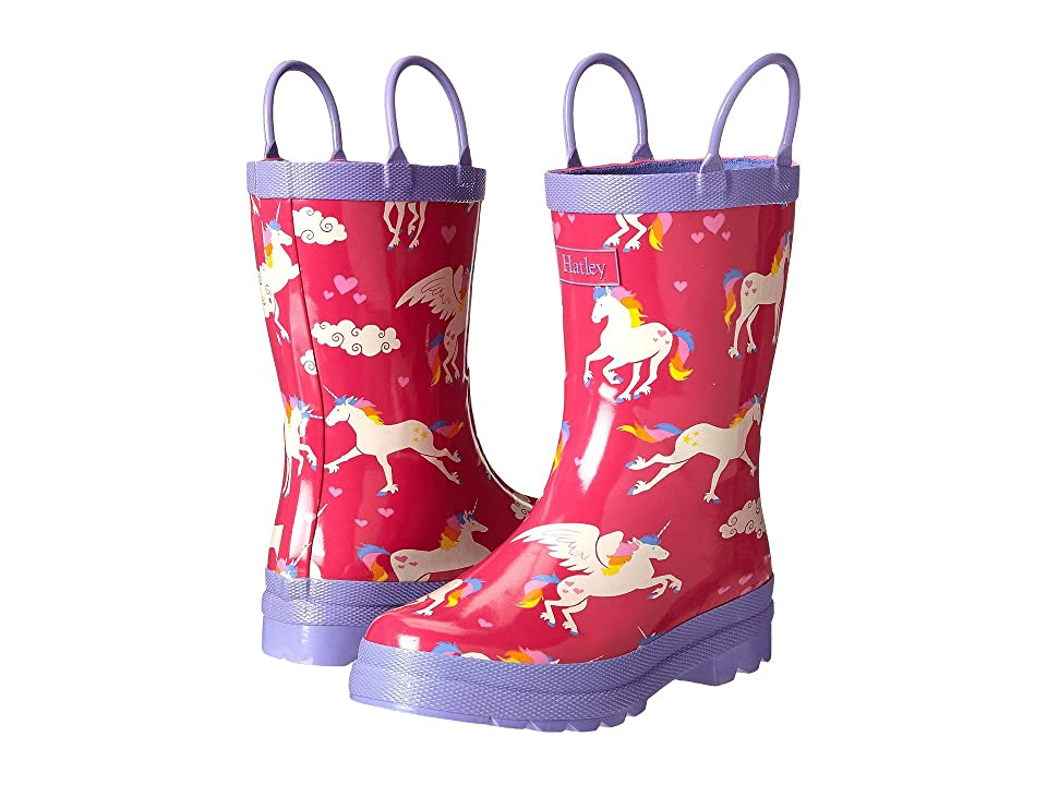 Hatley Kids Rainboots (Toddler/Little Kid) (Unicorns/Rainbows) Girls Shoes