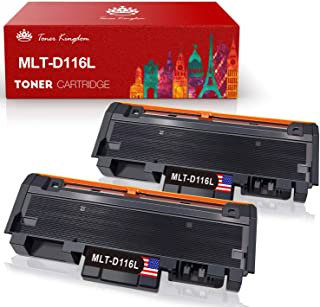 Toner Kingdom Compatible Cartucho de Toner para Samsung MLT-D116L MLT-D116S para Samsung Xpress M2675FN M2675F M2825DW M2825ND M2835DW M2875FW M2875FD M2885FW M2625D M2675 M2825 M2835 M2875 M2885