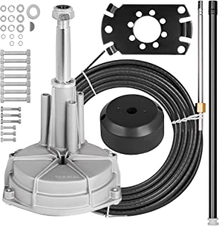 Mophorn SS13717 Safe-T Quick Connect Rotary Steering Kit Marine 17Ft