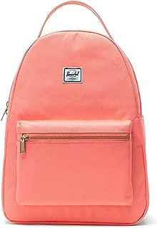 Herschel Women's Nova Mid-Volume Backpack, Fresh Salmon - 10503