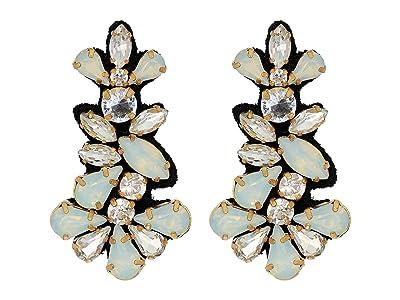 J.Crew Gavotte Earrings (Crystal) Earring