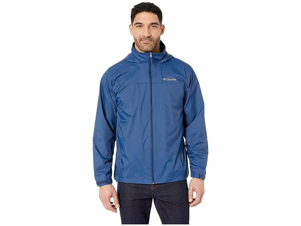 Columbia Glennaker Lake Lined Rain Jacket (Carbon) Men