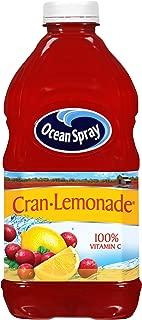 Ocean Spray Cran-Lemonade Cranberry Lemonade Juice Drink, 64 Ounce Bottles (Pack of 8)