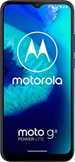 Motorola Moto G8 Power Lite, 4GB RAM, 64GB ROM, Dual Sim - Royal Blue