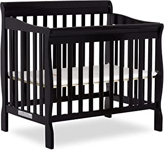 Dream On Me 4 in 1 Aden Convertible Mini Crib, Black
