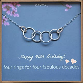 great gift ideas for woman's 40th birthday