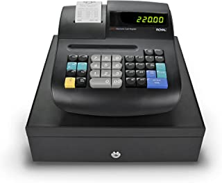 Royal 89103T-M Cajas Registradoras, 1500 Plus/ 20 Depts/ 10 Clerks, PC Backup,