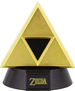 Paladone Gold Triforce Icon Light | Basato sulla leggenda di Zelda | Ideale per camere da letto dei bambini, ufficio e cas...