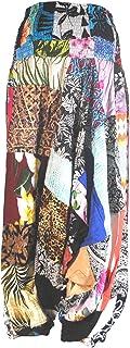 Terrapin Trading Fairtrade Patchwork Hippy Hareem Harem Aladdin Pants Festival Travel Trousers