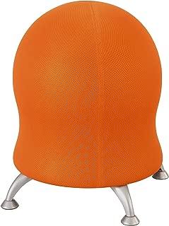 Safco 4750OR Polyester Mesh Zenergy Ball Chair, Orange