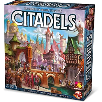 Asmodee - Citadels, Gioco da Tavolo, Edizione in Italiano, 9800