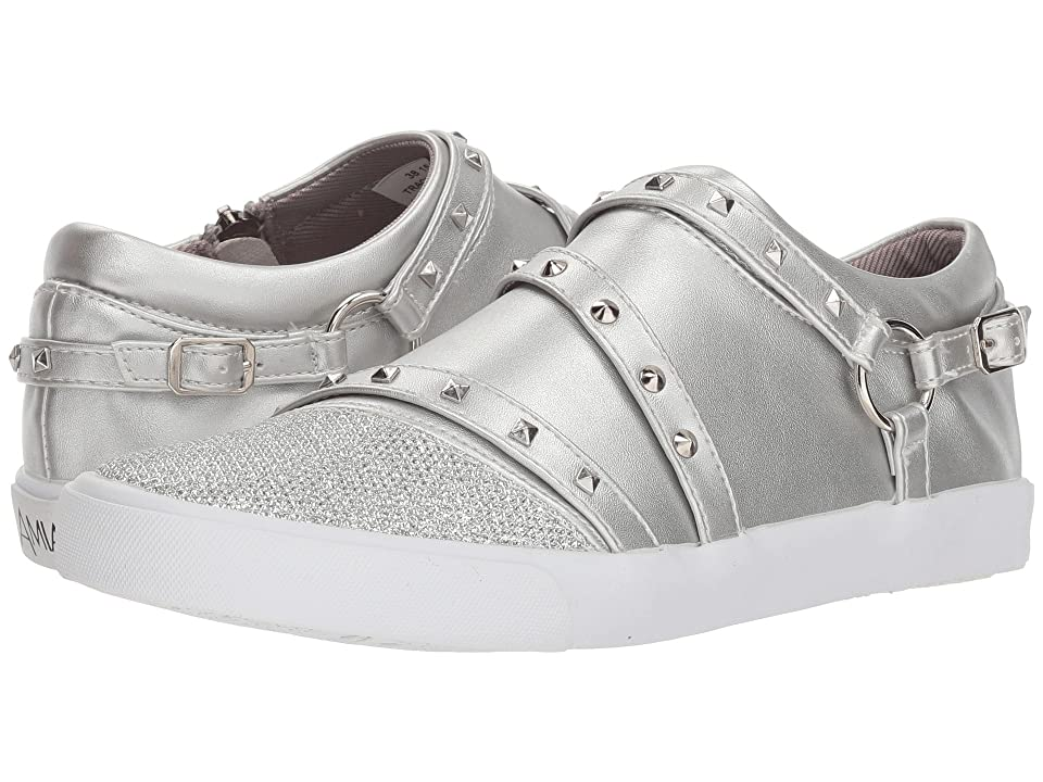 Amiana 15-A5510 (Toddler/Little Kid/Big Kid/Adult) (Silver Casual PU) Girl