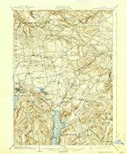 YellowMaps Richfield Springs NY topo map, 1:62500 Scale, 15 X 15 Minute, Historical, 1903, Updated 1938, 20 x 16.6 in