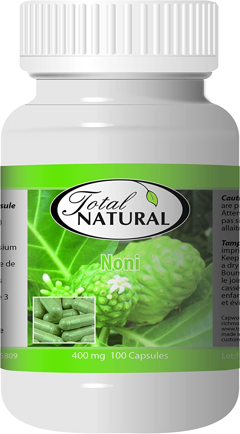 Noni 400mg 100c Max 67% OFF 12 Super intense SALE Bottles by Pure Total 100% I Natural