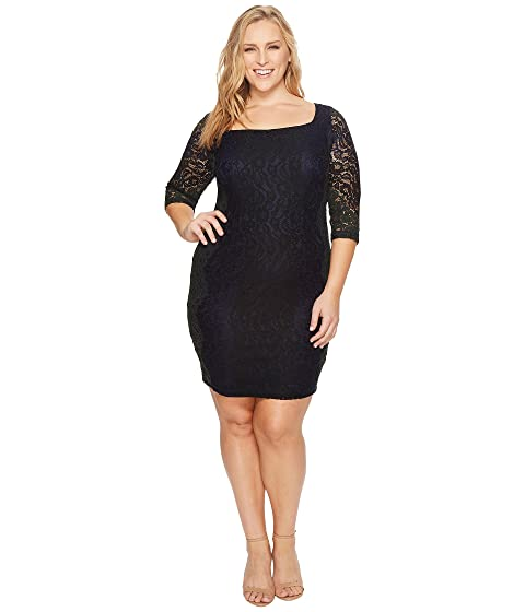 Sangria Plus Size Lace Sheath Dress At 6pm