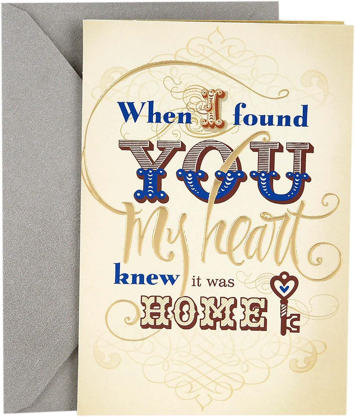 Hallmark Romantic Father's Day Card Husband for Manufacturer regenerated product Life Over item handling We've The