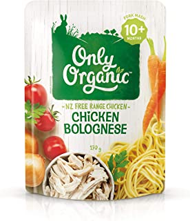 Only Organic Chicken Bolognese 10+ Months - 170g