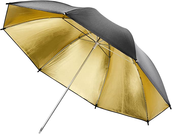 Walimex Reflexschirm Gold 84 Cm