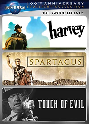 Hollywood Legends Spotlight Collection: (Harvey / Spartacus / Touch of Evil)