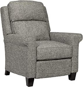 Signature Design by Ashley - Evanside Low Leg Power Recliner with Extended Ottoman - Gray