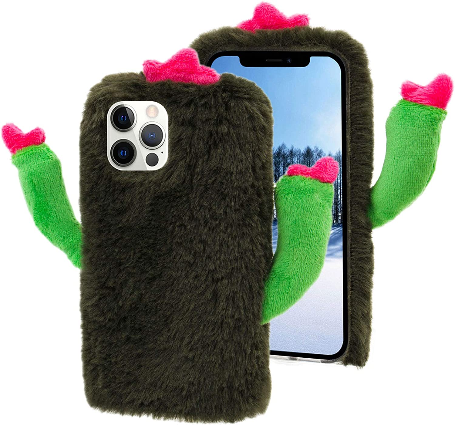 Cactus Phone Case for OFFicial Samsung Galaxy Cas Cheap mail order specialty store 5G Plush Green Not A51