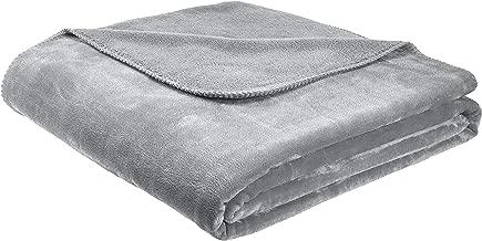 AmazonBasics Fuzzy, Micro Plush Fleece Blanket Full/Queen TEX20190279