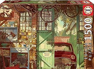 Educa 1500pc Puzzle Old Garage, Arly Jones