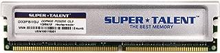 Super Talent DDR400 1GB/64X8 CL3 16CH Memory (PC and MAC G5) D32PB1GJ