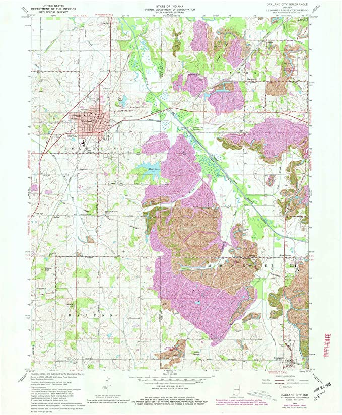 1:24000 Scale Historical Updated 1984 26.9 x 22 in YellowMaps Hampton CT topo map 7.5 X 7.5 Minute 1984