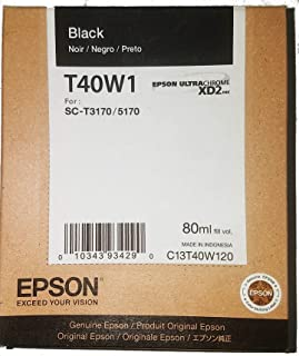 Cartucho de Tinta Epson T40W120 Ultrachrome Preto