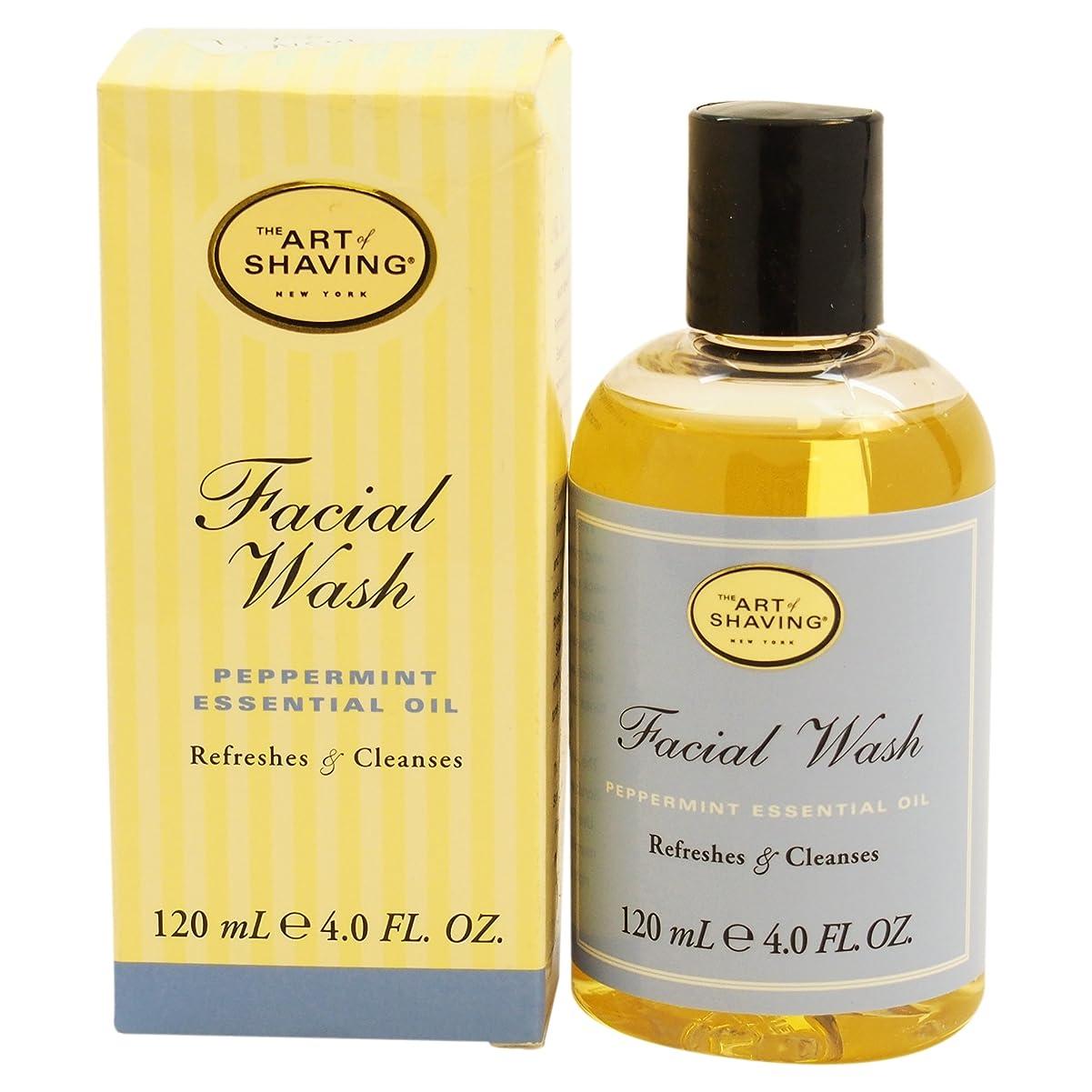 連邦もう一度何十人もThe Art Of Shaving Facial Wash With Peppermint Essential Oil (並行輸入品) [並行輸入品]