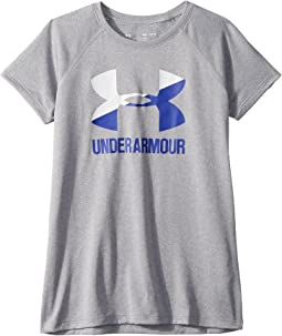 UA Solid Big Logo Short Sleeve Tee (Big Kids)
