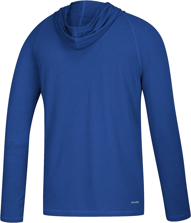 adidas NCAA mens Line Shine Ultimate L//S Hood