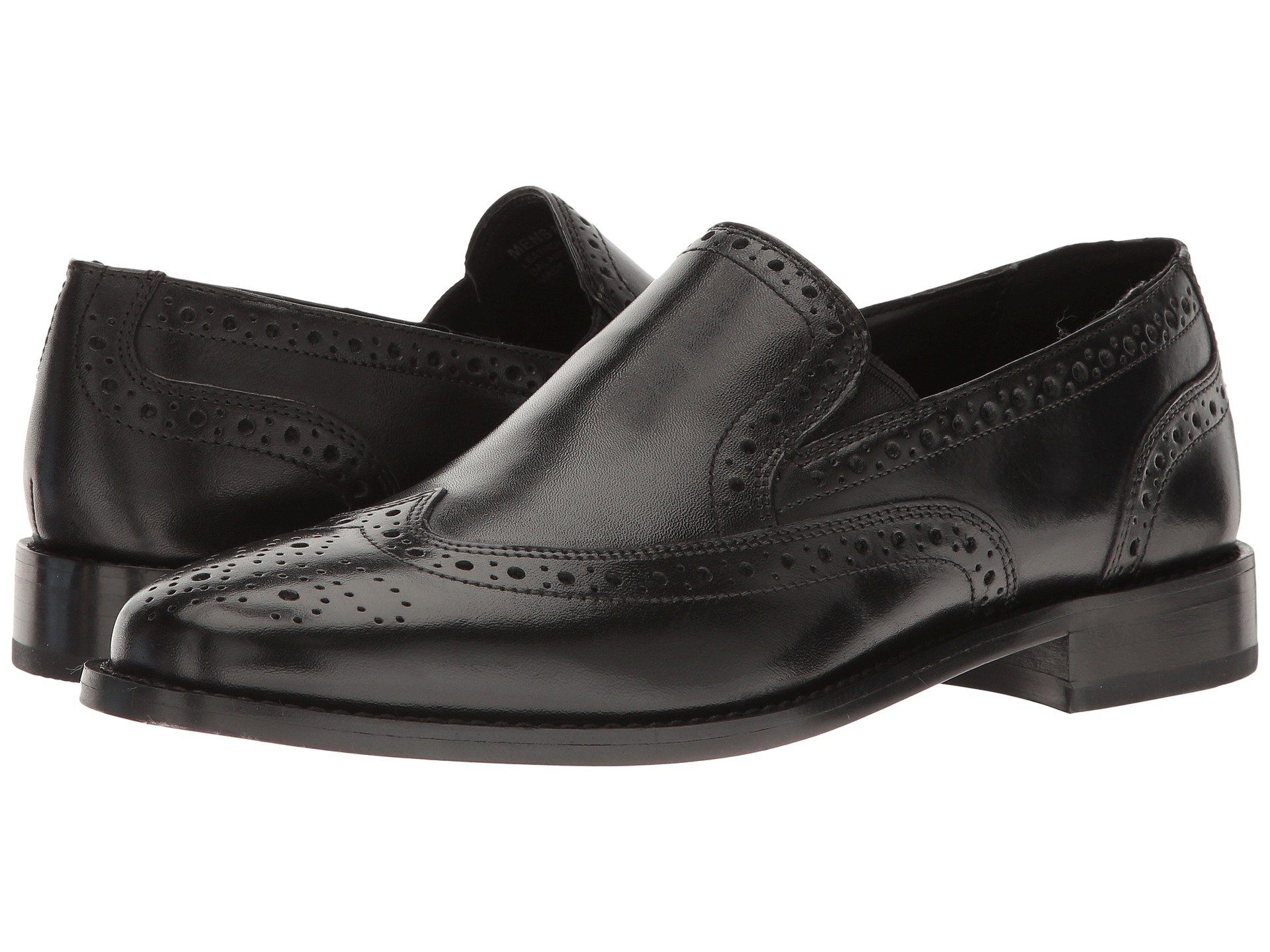 Norris Wing Tip Double Gore Dress Casual Slip-On