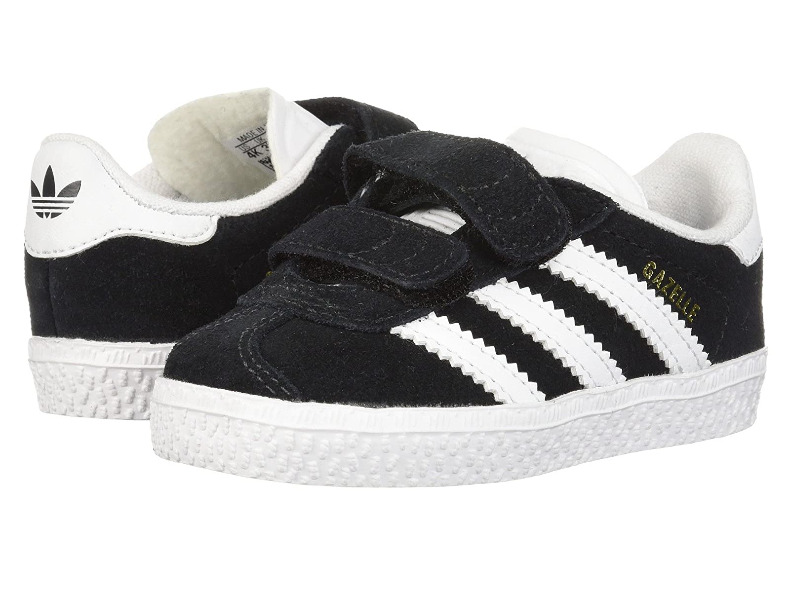 adidas Originals Kids Gazelle CF I (Toddler)Atmospheric grades have affordable shoes
