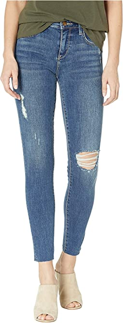 Kitten Mid-Rise Ankle Skinny Jeans in Robbie