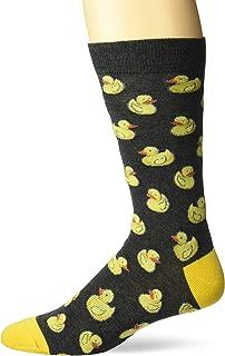 Men's Men's Rubber Duck Crew Socks Sockshosiery