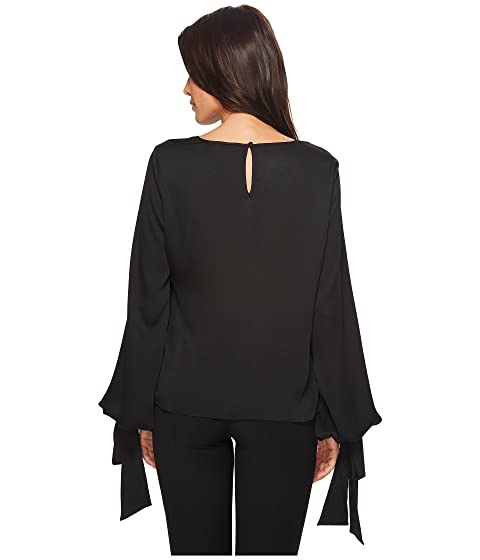 Bubble Tie Blouse Vince Sleeve Cuff Camuto PY4aqwU6