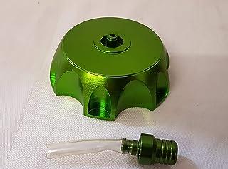 Orange Imports Ltd FC009 Benzinkappe und Entlüftungsrohr für 110 cc, 125 cc, 140 cc, Grün
