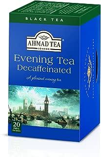 Ahmad Tea Decaffeinated Evening Tea, 20-Count Boxes (Pack of 6)